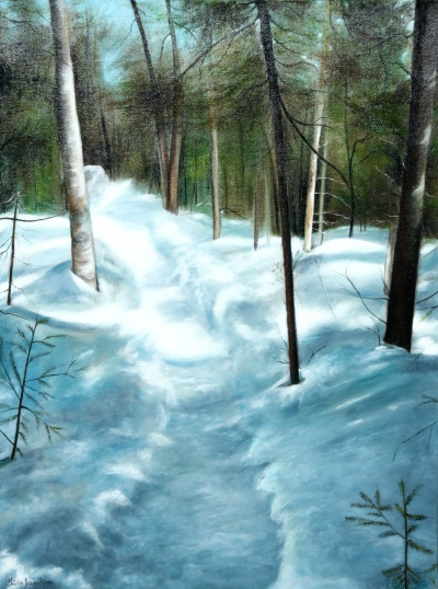 Paysage | chemin hivernal @ Gilles Jean-Marie