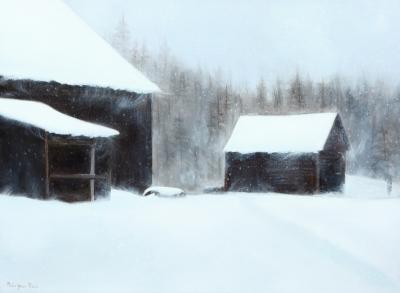 Paysage hivernal_4 @ Gilles Jean-Marie