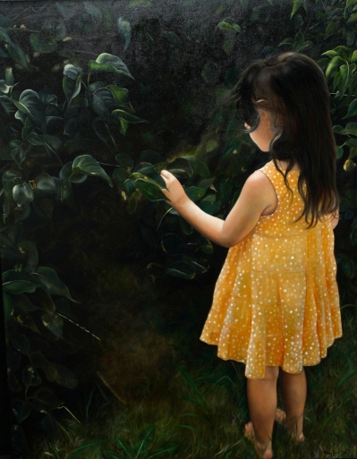 Portrait | fillette à robe jaune @ Gilles Jean-Marie