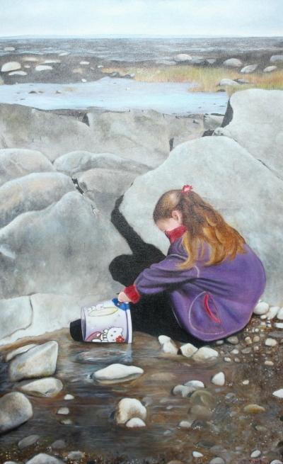 Portrait | fillette et rochers @ Gilles Jean-Marie